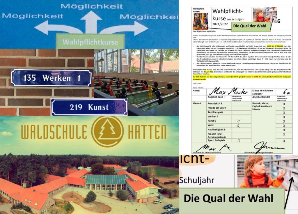 Alle Informationen zur WPK- und Profilwahl 2021/2022: Wahlprogramm und Wahlunterlagen