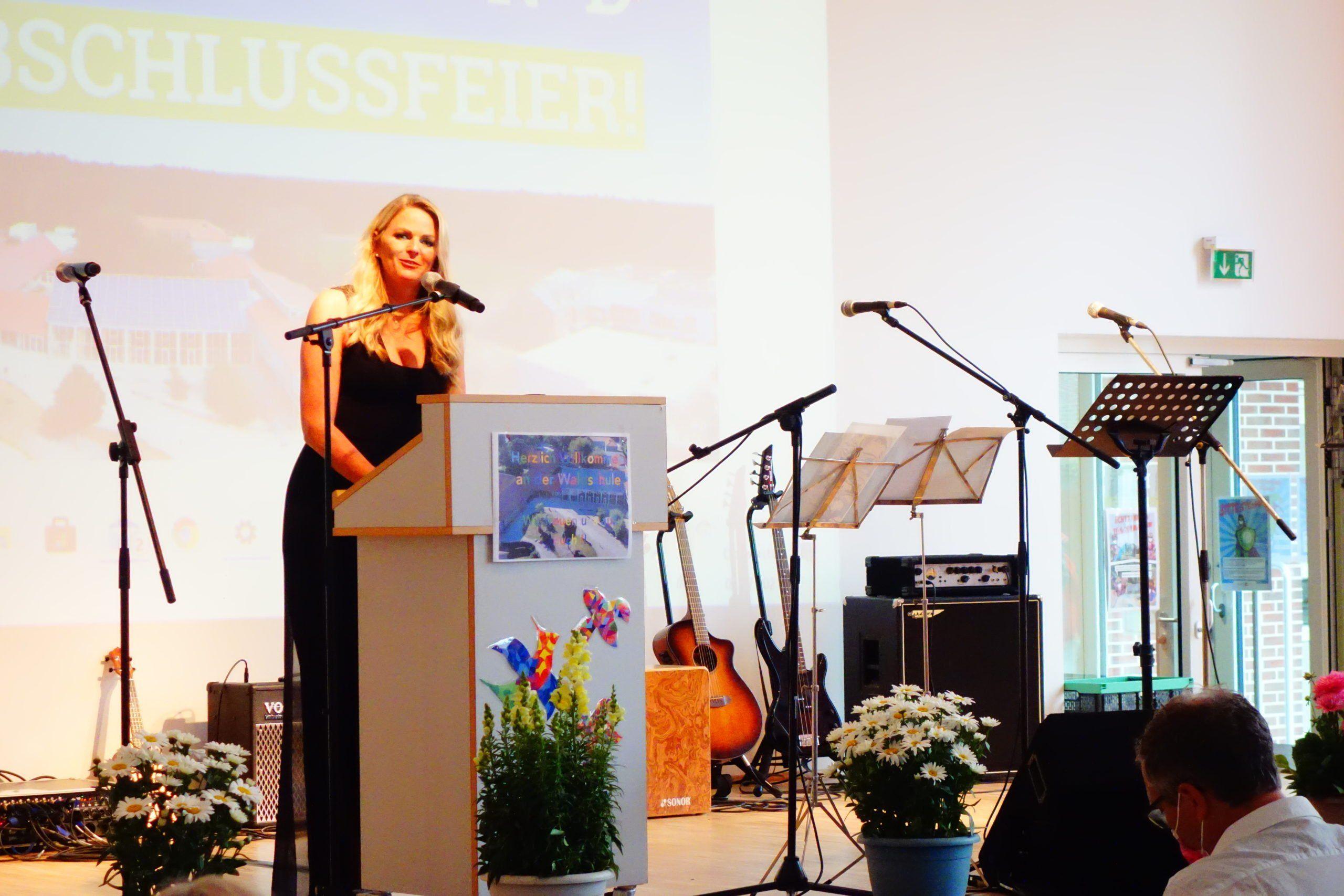 Abschlussrede der Schulleiterin <br>Silke Müller